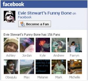 become evie stewarts fan