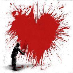 Banksy's heart-on
